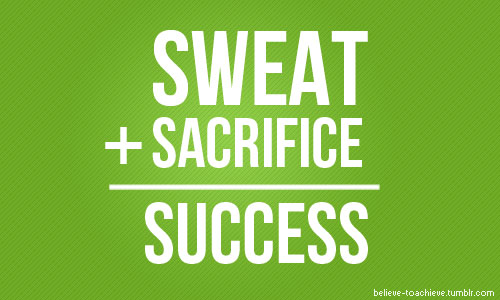 wekosh-sacrifice-quote-sweat-plus-sacrifice-equals-success