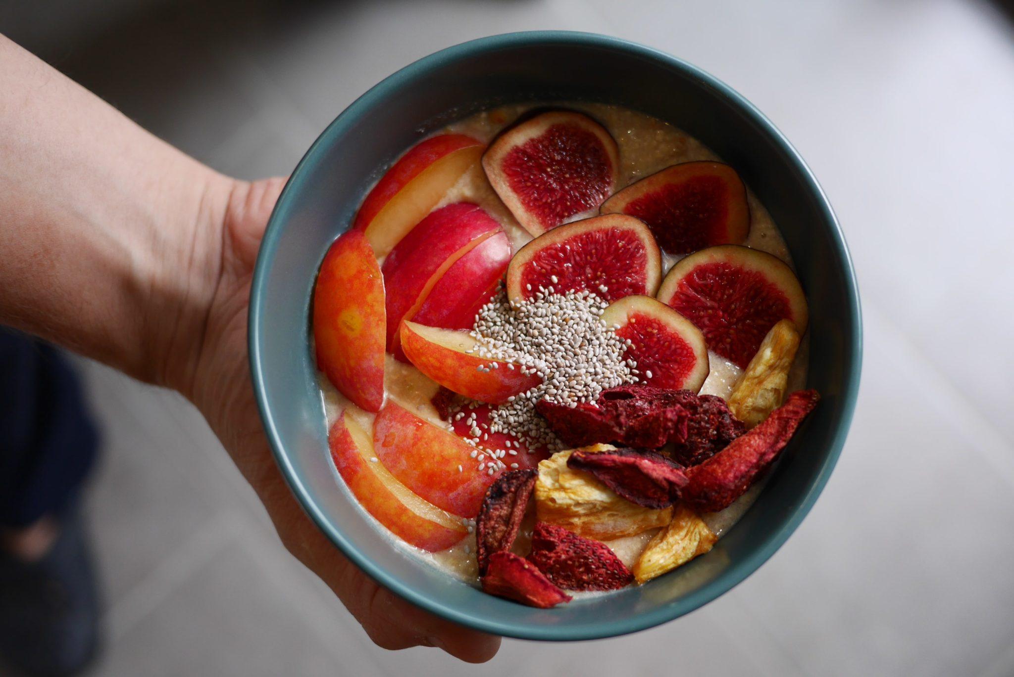 porridge-fruits