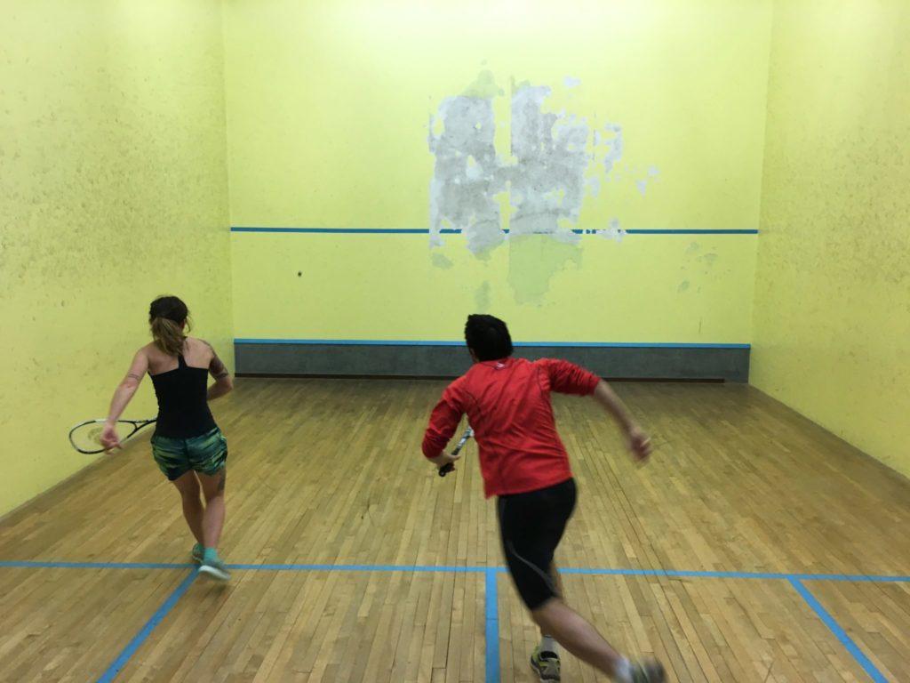 Center Parcs Hauts de Bruyère Squash