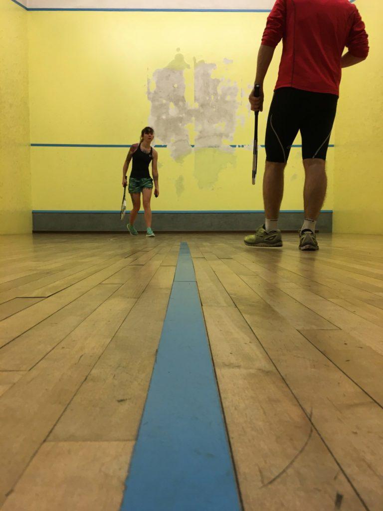 Squash Center Parcs Hauts de Bruyère