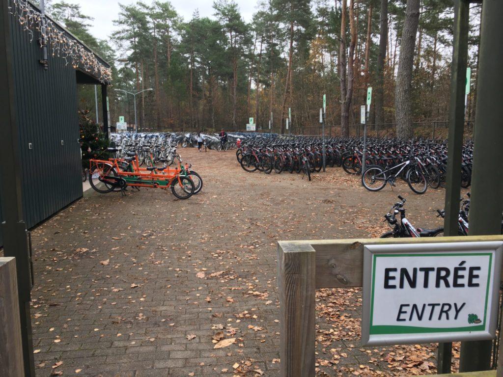 Center Parcs Hauts de Bruyère parc à vélo