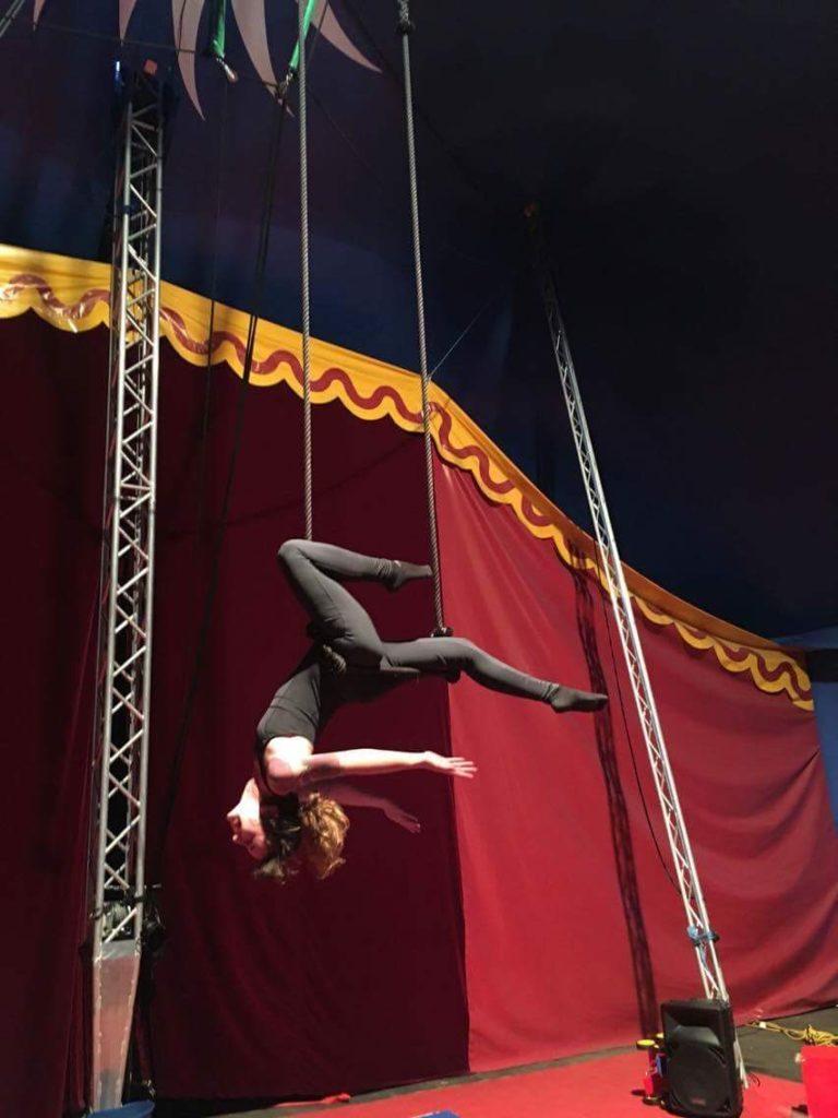 ecole cirque - Center Parcs Hauts de Bruyère
