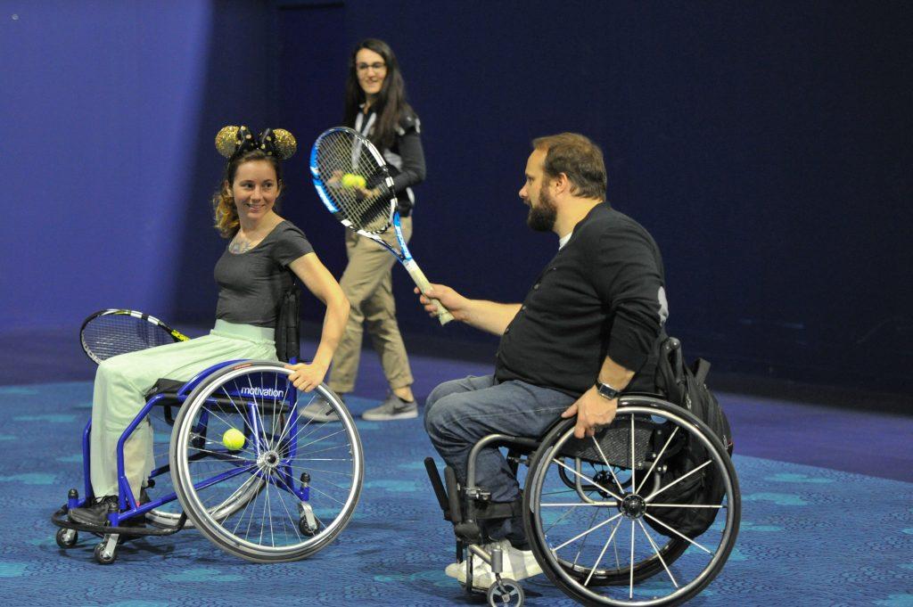 tennis fauteuil roulant