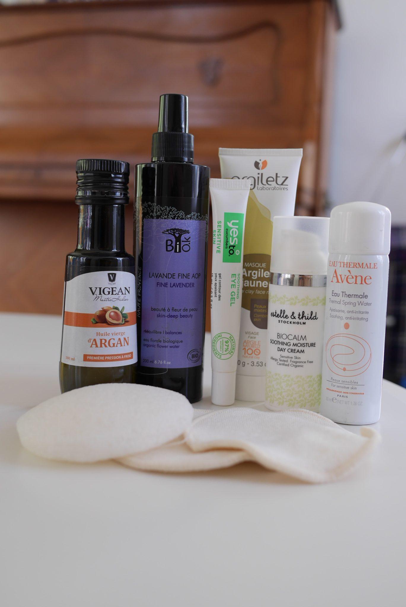 produits de beauté bio pour le visage