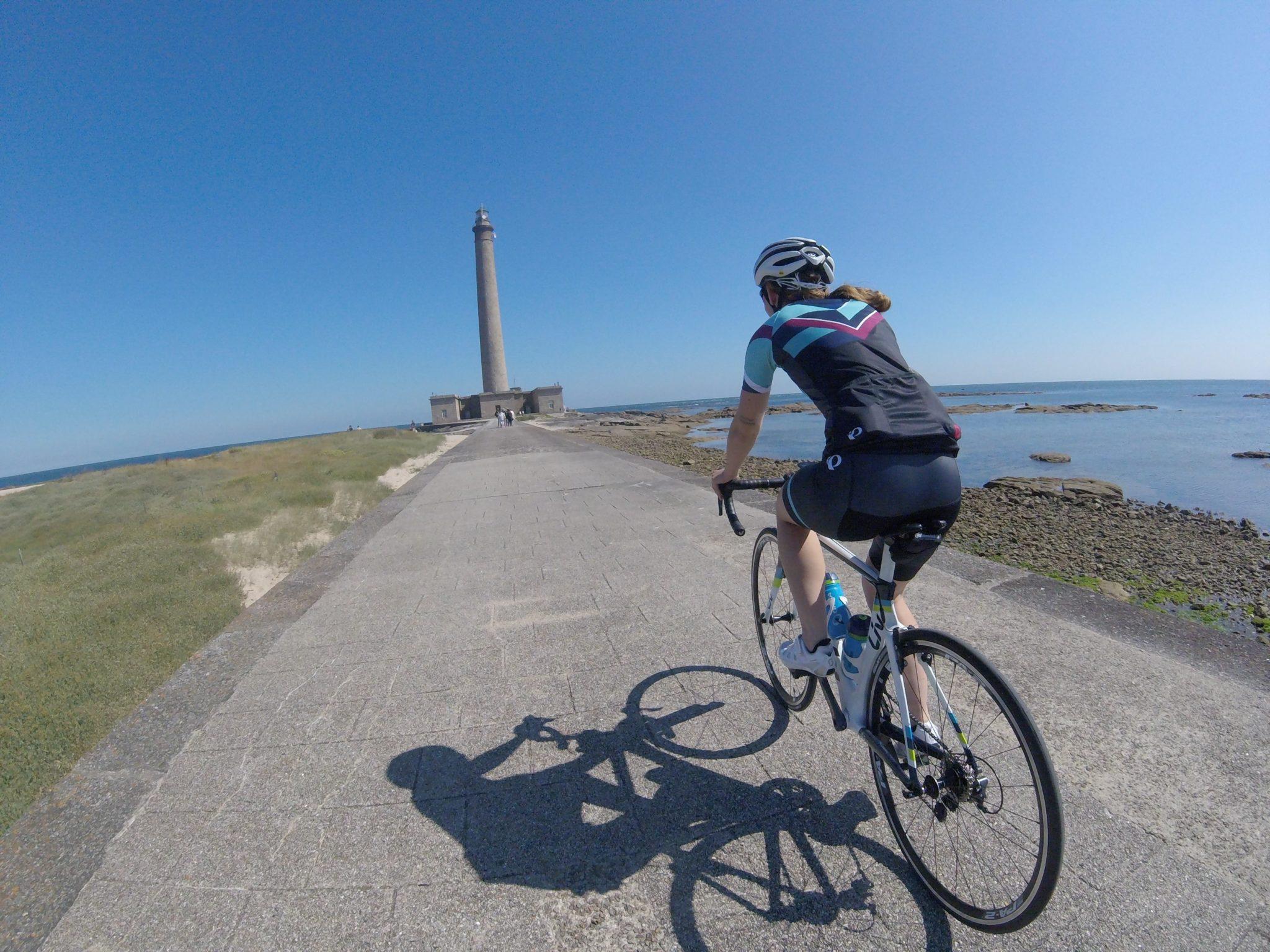 Vélo Pointe de Barfleur Phare de Gatteville
