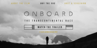 Affiche Onboard the Transcontinental Race